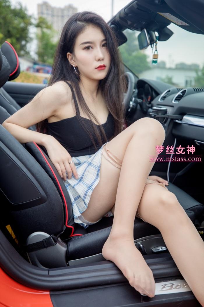 [MSLASS梦丝女神] 2019-05-26 苏安希 跑车丝袜女神 [95P/631MB] 其它写真-第2张